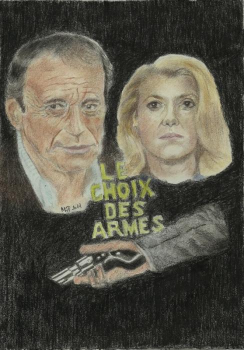 Yves Montand, Catherine Deneuve par JPPF